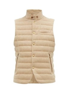 Ralph Lauren Purple Label Whitewell quilted-wool gilet