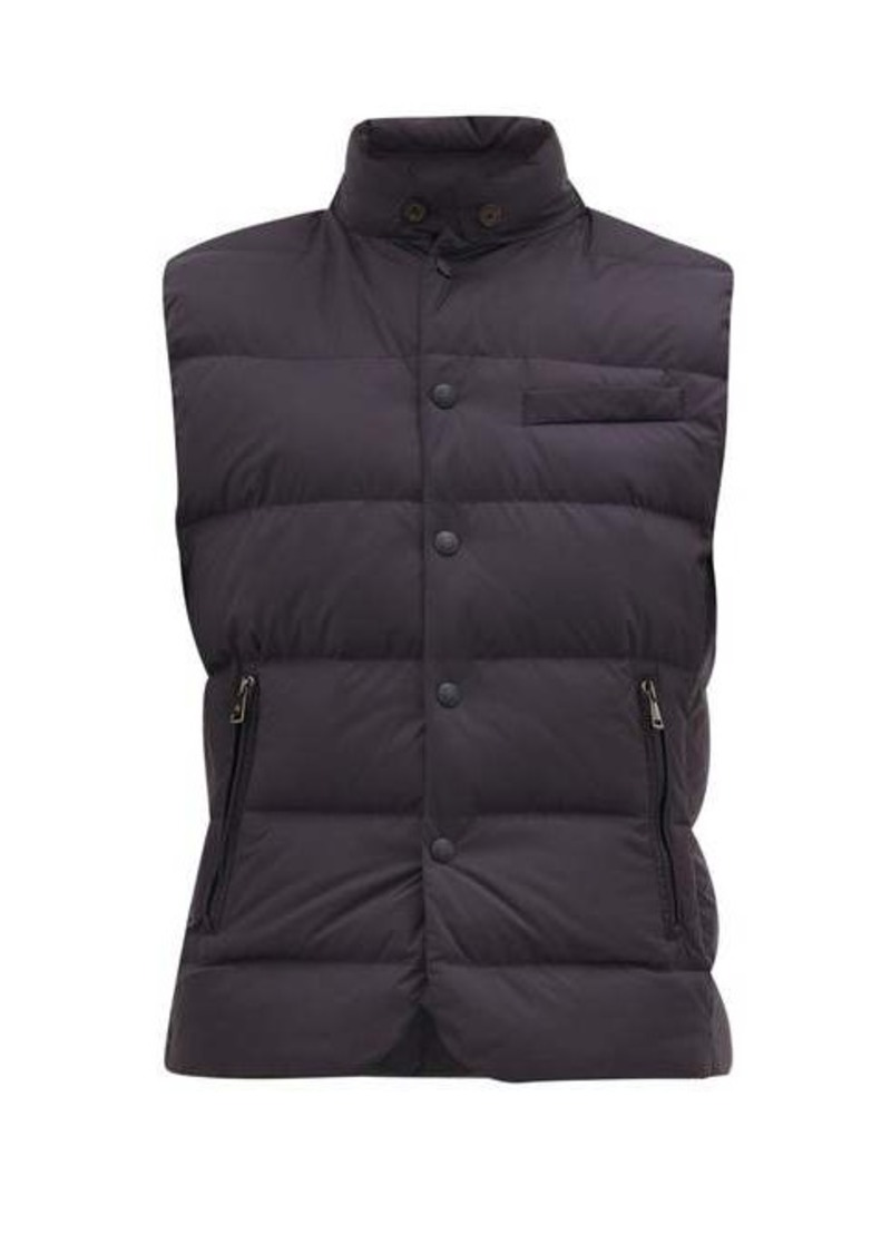 Ralph Lauren Purple Label Whitwell quilted down-padded gilet