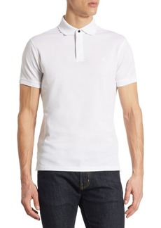 Ralph Lauren RLX Zip-Placket Cotton Polo