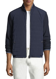 Ralph Lauren Quilted Reversible Baseball Jacket