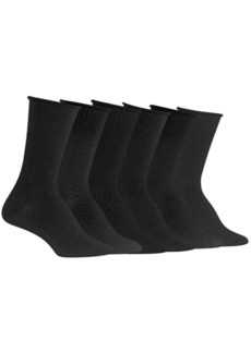 Ralph Lauren Six-Pack Textured Crew Socks