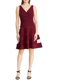 Lauren Ralph Lauren Sleeveless Fit-and-Flare Dress