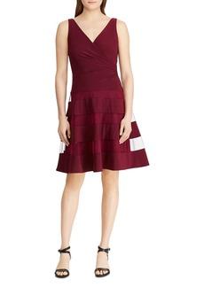 Lauren Ralph Lauren Sleeveless Fit-and-Flare Dress