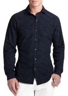 Ralph Lauren Sloan Camo Jacquard Shirt