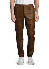 Ralph Lauren Purple Label Solid Leather Pants