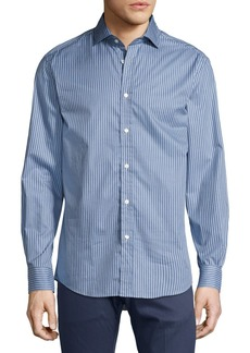 Ralph Lauren Striped Twill Cotton Shirt