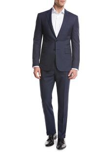 Ralph Lauren Striped Wool Two-Piece Suit