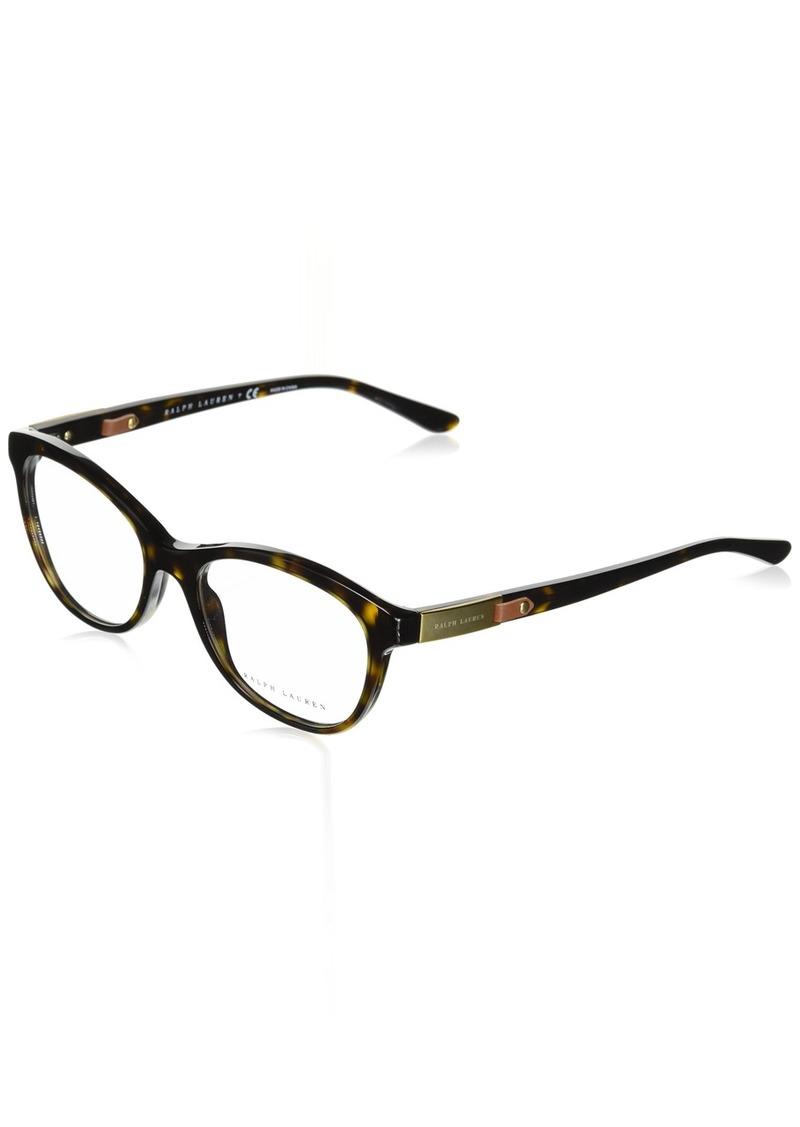 Ralph Lauren Sunglasses Women's Acetate Woman Optical Frame 0RL6157Q Oval Sunglasses