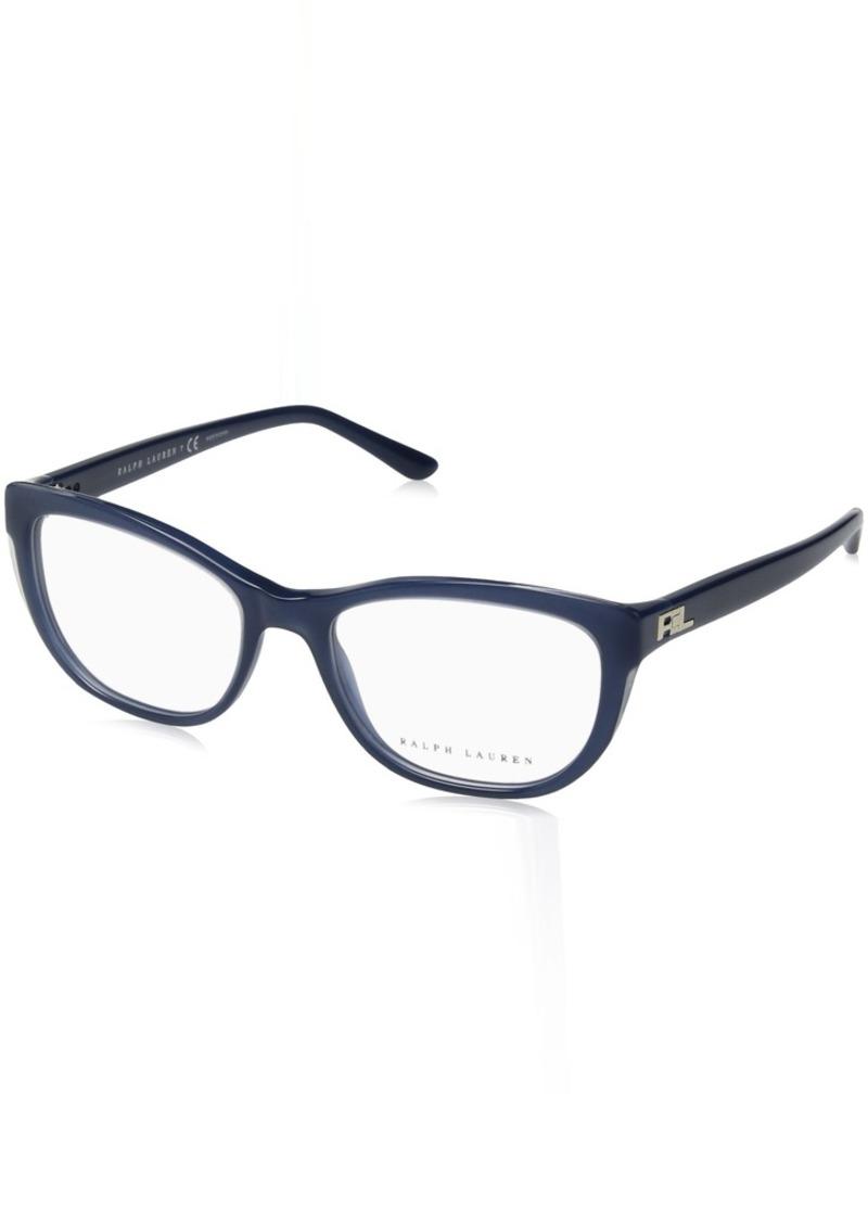 Ralph Lauren Sunglasses Women's Acetate Woman Optical Frame 0RL6170 Rectangular Sunglasses  52 mm