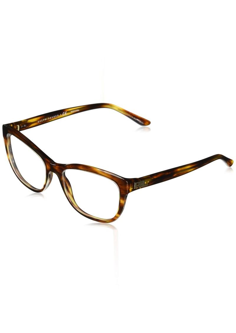 Ralph Lauren Sunglasses Women's Acetate Woman Optical Frame 0RL6170 Rectangular Sunglasses