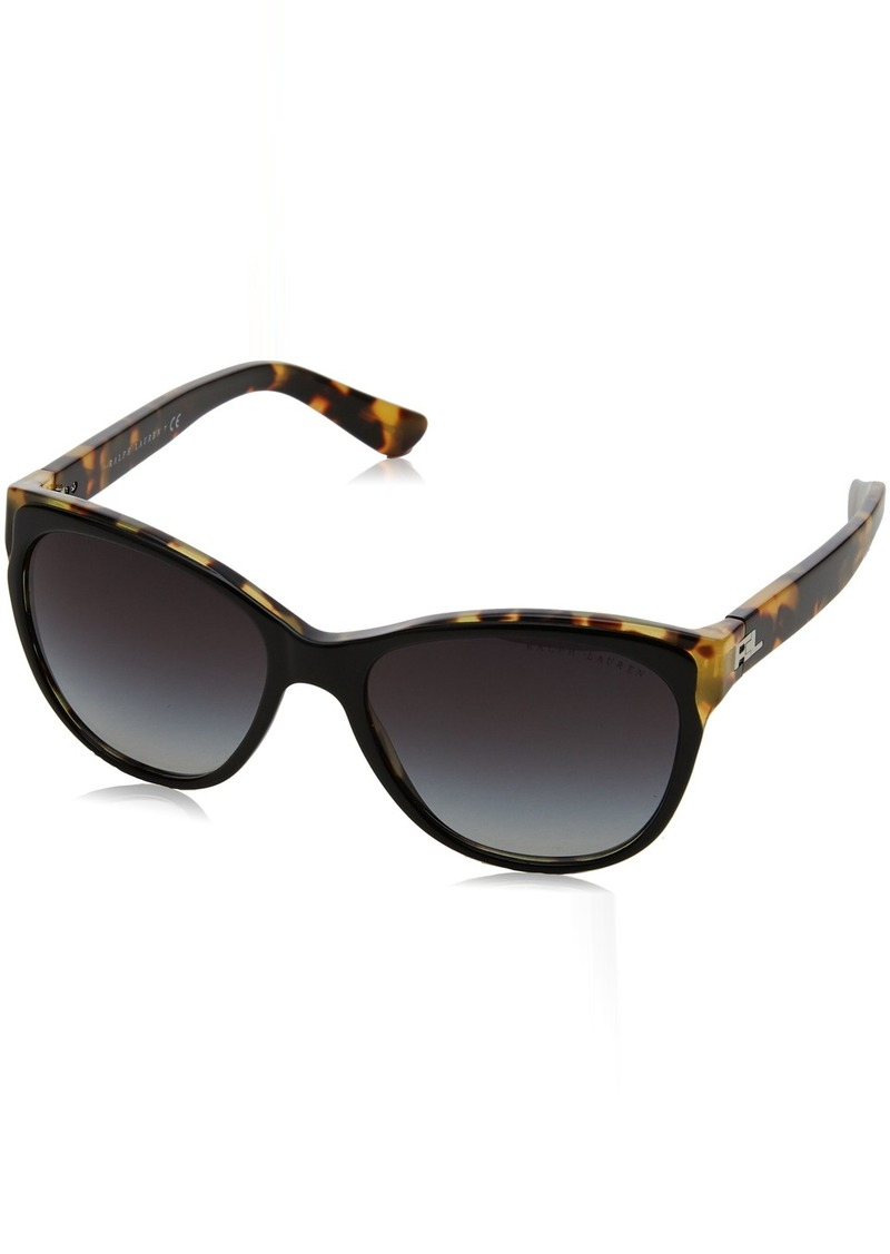 Ralph Lauren Sunglasses Women's Acetate Woman Sunglass 0RL8156 Cateye Sunglasses  57 mm