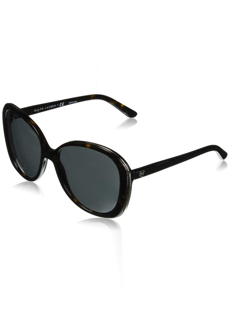 Ralph Lauren Sunglasses Women's Plastic Woman Sunglass Oval Sunglasses