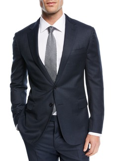 Ralph Lauren Textured Birdseye-Knit Two-Piece Suit