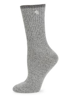 RALPH LAUREN Textured Knit Socks