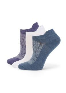 Ralph Lauren Three-Pack Ankle Socks