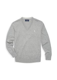 Ralph Lauren Toddler's, Little Boy's & Boy's V-Neck Sweater