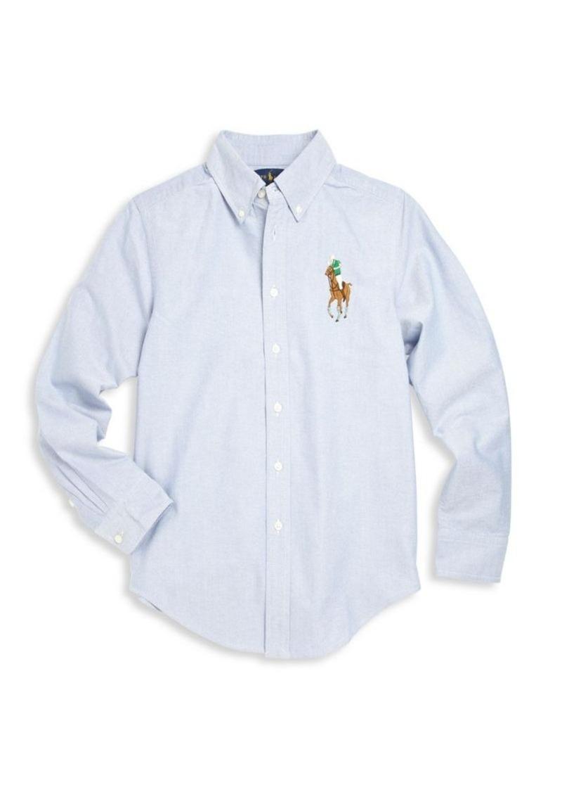 Ralph Lauren Toddler's & Little Boy's & Boy's Big Pony Shirt