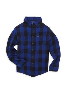 Ralph Lauren Toddler's & Little Boy's Plaid Cotton Shirt