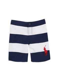 Ralph Lauren Toddler's & Little Boy's Rugby Stripe Swim Trunks