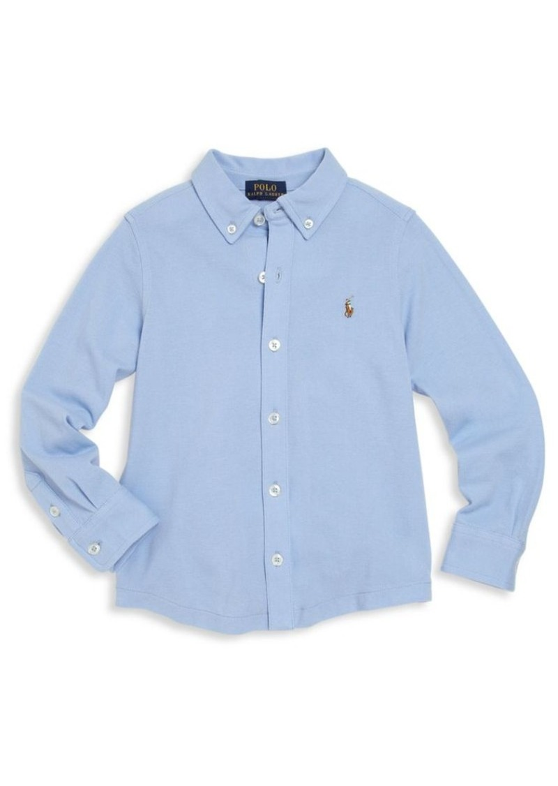 Ralph Lauren Toddler's & Little Boy's Striped Button-Down Shirt