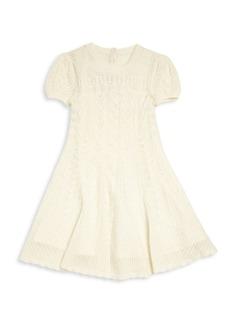 Ralph Lauren Toddler's & Little Girl's Cashmere Pointelle Knit Dress