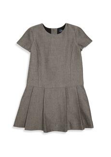 Ralph Lauren Toddler's & Little Girl's Pleated Short Sleeve Dress