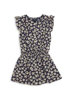 Ralph Lauren Toddler's & Little Girl's Smocked Floral Dress