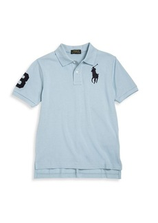 Ralph Lauren Toddler's, Little Boy's & Big Boy's Big Pony Solid Cotton Polo