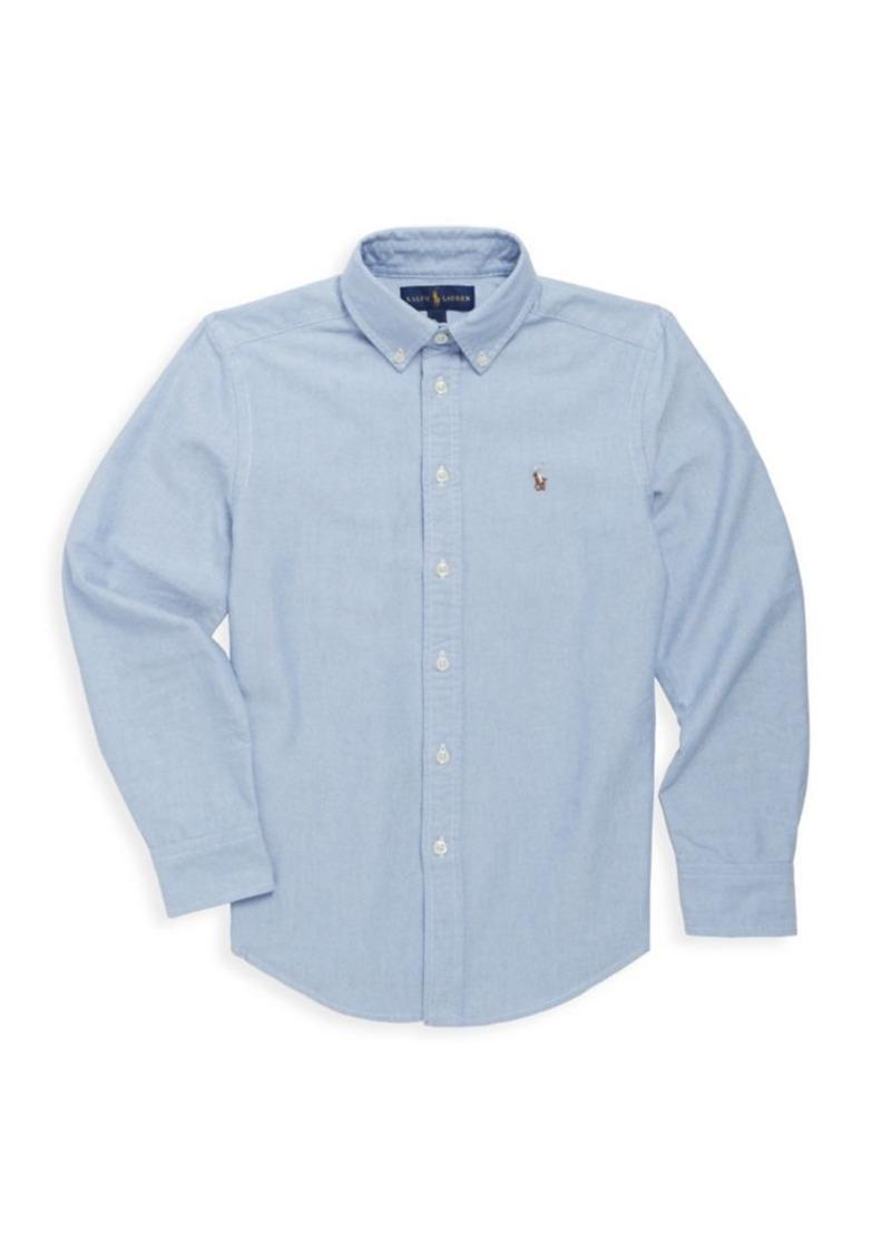 Ralph Lauren Little Boy's & Boy's Cotton Oxford Sport Shirt
