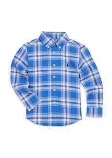 Ralph Lauren Toddler's, Little Boy's & Boy's Performance Oxford Shirt