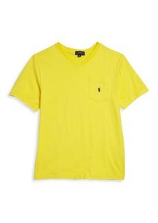 Ralph Lauren Toddler's, Little Boy's & Boy's Short Sleeve Logo Embroidered T-Shirt