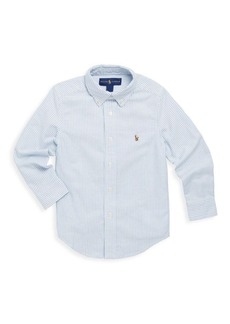 Ralph Lauren Little Boy's & Boy's Oxford Cotton Button-Down Sport Shirt