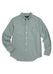 Ralph Lauren Toddler's, Little Boy's & Boy's Tattersall Button-Down Shirt