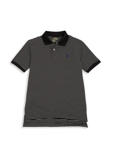 Ralph Lauren Little Boy's & Boys Tennis-Hem Striped Polo