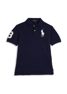 Ralph Lauren Toddler's, Little Boy's & Boy's Textured Polo Shirt