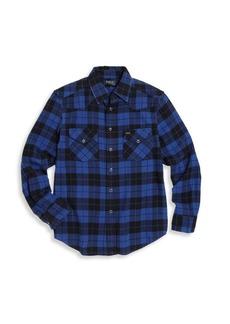Ralph Lauren Toddler's, Little Boy's &Boy's Plaid Western Shirt