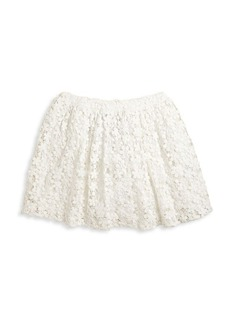 Ralph Lauren Little Girl's & Girl's Cotton Lace Skirt