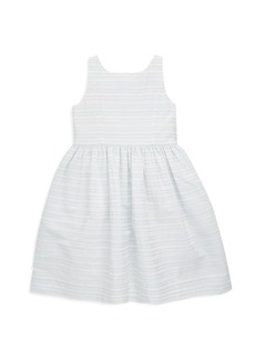 Ralph Lauren Toddler's, Little Girl's & Girl's Cutout Fit-And-Flare Dress