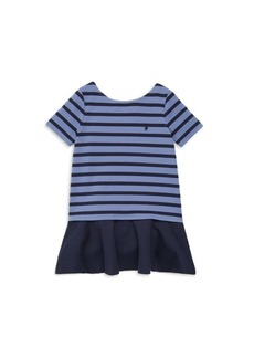 Ralph Lauren Toddler's, Little Girl's & Girl's Linear Ponte Dress