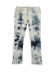 Ralph Lauren Toddler's, Little Girl's & Girl's Marbled Skinny Jeans
