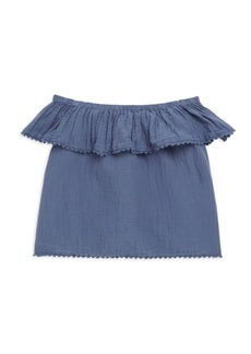 Ralph Lauren Toddler's, Little Girl's & Girl's Off-The-Shoulder Top
