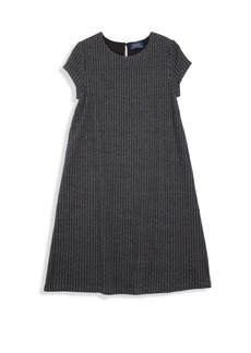 Ralph Lauren Toddler's, Little Girl's & Girl's Pinstriped A-Line Dress
