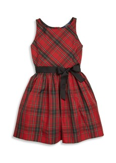 Ralph Lauren Toddler's, Little Girl's & Girl's Plaid Fit-&-Flare Dress