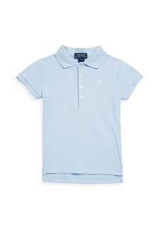 Ralph Lauren Little Girl's & Girl's Signature Mesh Polo