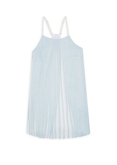 Ralph Lauren Toddler's, Little Girl's & Girl's Pleated Racerback Chiffon Dress