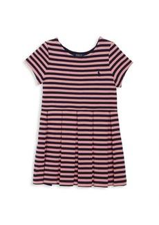 Ralph Lauren Toddler's, Little Girl's & Girl's Striped Fit-&-Flare Dress