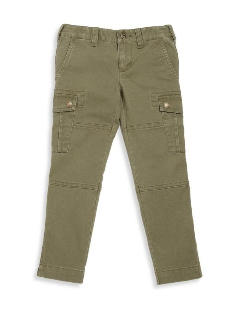 Ralph Lauren Toddler's, Little Girl's & Girl's Twill Cargo Pants