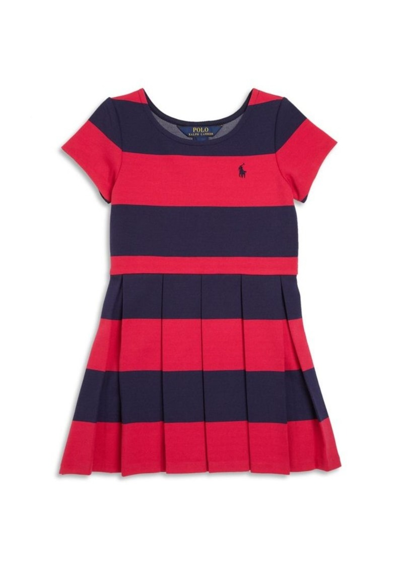 Ralph Lauren Toddler's Striped Fit-&-Flare Dress