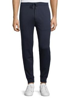 Ralph Lauren Track Jogger Pants with Stripe Trim