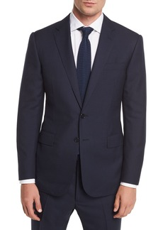 Ralph Lauren Two-Button Wool Plaid Suit